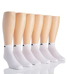Adidas Extended Size Athletic Low Cut Socks - 6 Pack 5140287B