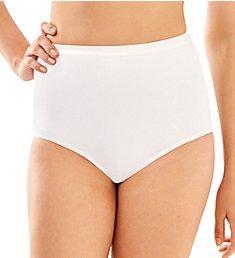 Bali Full-Cut-Fit Stretch Cotton Brief Panty 2324