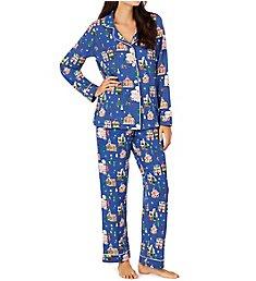 BedHead Pajamas Gingerbread Village PJ Set 2921263