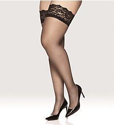 Berkshire Luxury Queen Stretch Lace Stay Up Thigh Highs 5024