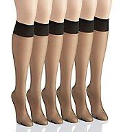 Berkshire Ultra Sheer Knee High - 6 Pack 6474