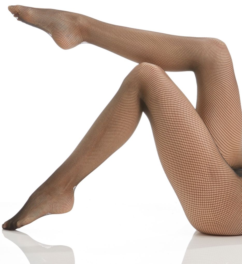 Berkshire Stretch Fishnet with Cotton Gusset 8010