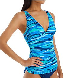 Bleu Rod Beattie Waves Of Change Tankini Swim Top 20456