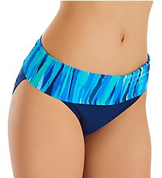 Bleu Rod Beattie Waves of Change Fold Over Pant Swim Bottom 20531