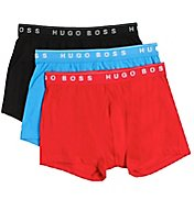 Boss Hugo Boss 100% Cotton Boxer Briefs 3 Inch Inseam - 3 Pack 0236732