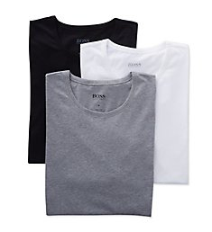 Boss Hugo Boss Essential 100% Cotton Crew Neck T-Shirts - 3 Pack 0325385
