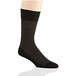 Boss Hugo Boss Egyptian Cotton Blend Mini-Pattern Sock 0389312