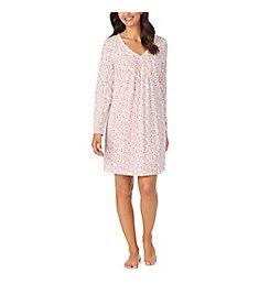 Carole Hochman Cotton Ditsy Sleepshirt CH21854