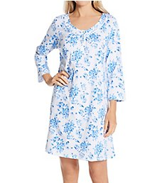 Carole Hochman 100% Cotton Short 3/4 Sleeve Chemise CH22203