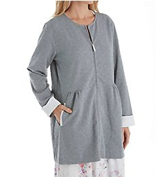 Carole Hochman Diamond Short Zip Robe CH41607