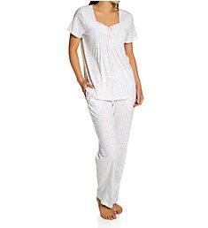 Carole Hochman 100% Cotton Short Sleeve PJ Set CH92000