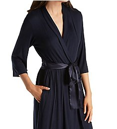 Carole Hochman Midnight Simple Slumber Short Robe 134730