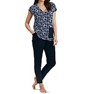 Carole Hochman Midnight Midnights Long PJ Set 1391221