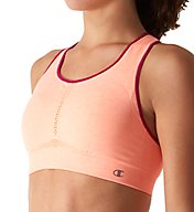 Champion The Infinity Shape Racerback Seamless Sports Bra B0826