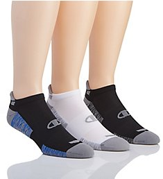 Champion Performance Heel Shield Socks - 3 Pack CH184