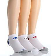 Champion Men's No Show Training Socks- 3 Pack CH201