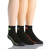 Champion Men's Ankle Training Socks - 3 Pack CH202