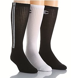 Champion Men's Dyed Crew Socks- 3 Pack CH209
