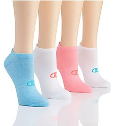 Champion Performance Double Dry No Show Socks - 4 Pair CH224