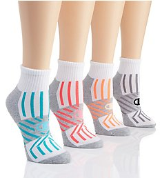 Champion Performance Double Dry Ankle Socks - 4 Pair CH227