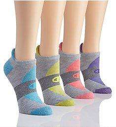 Champion Performance Double Dry Heel Shield Socks - 4 Pair CH228