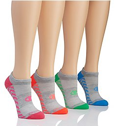 Champion Performance Double Dry No Show Socks - 4 Pair CH235