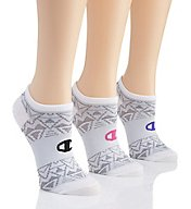 Champion High Performance Double Dry No Show Socks - 3 Pair CH248