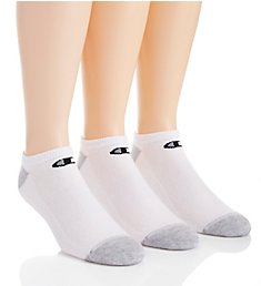 Champion Double Dry Performance No Show Socks - 6 Pack CH609