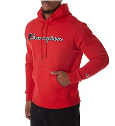 Champion Graphic Powerblend Fleece Hoodie w/Applique GF89H