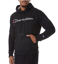 Champion Graphic Powerblend Fleece Hoodie w/Applique GF89H