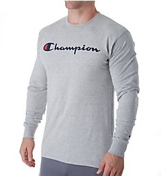 Champion Classic Jersey Graphic Long Sleeve T-Shirt GT78H