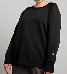 Champion Powerblend Plus Size Fleece Crew Neck Pullover QW914