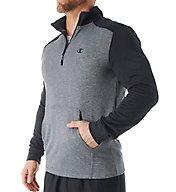 Champion Duofold Warmth Tech Fleece Quarter Zip T0876