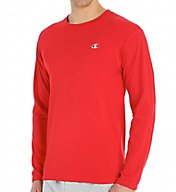 Champion Cotton Jersey Athletic Fit Long Sleeve Tee T2228