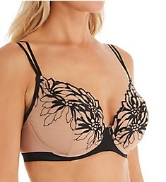 Chantelle Shadows 3 Part Plunge Underwire Bra 12A1