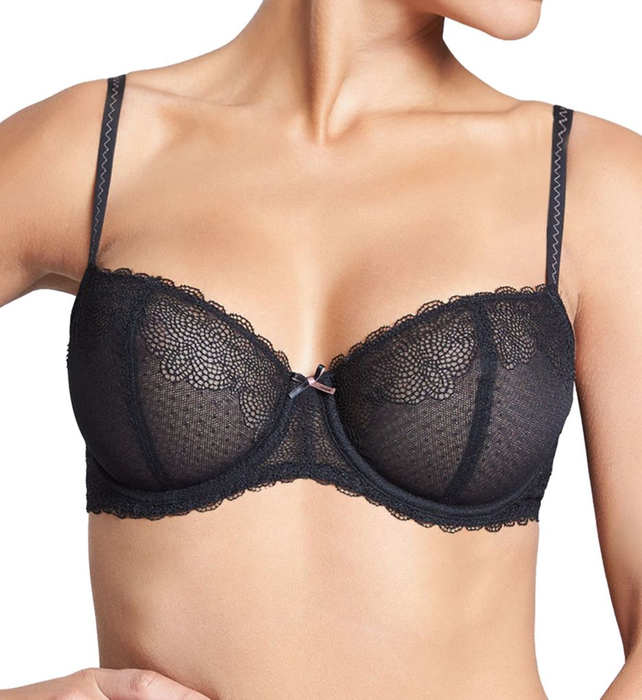 Chantelle Le Marais Lace Underwire Unlined Demi Bra 2735