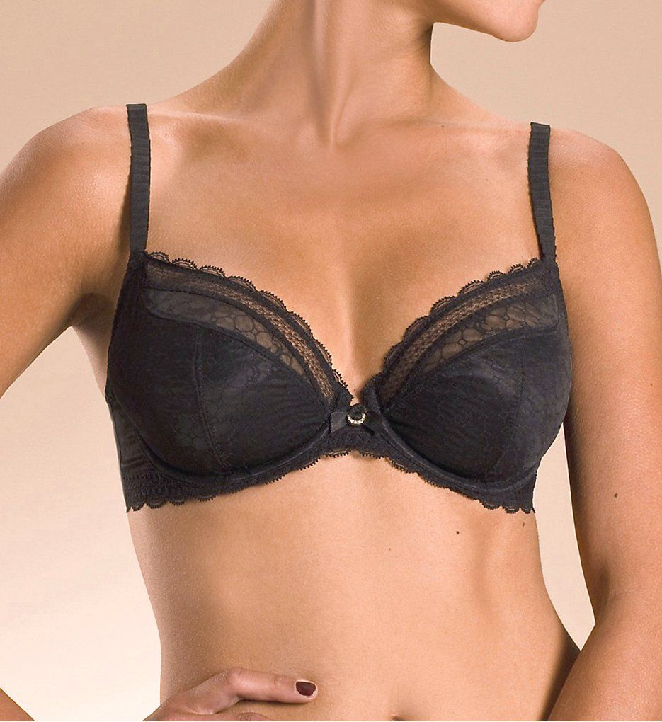 Chantelle C Chic Sexy 3-Part Plunge Underwire Bra 3641