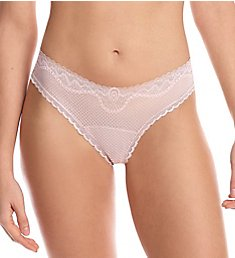 Commando Perfect Stretch Lace Thong CT330
