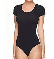 Commando Ballet Body Short Sleeve Thong Bodysuit KT014