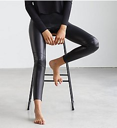 Commando Faux Leather Moto Legging SLG13