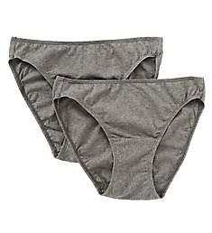 Cottonique Organic Cotton Bikini Brief Panty - 2 Pack W22206