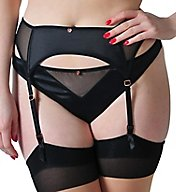 Curvy Kate Scantilly Peek-A-Boo Garter Belt ST2304