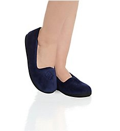 Dearfoams Microfiber Velour Closed Back Slipper 51701