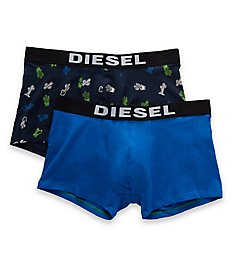 Diesel Shawn Cotton Stretch Trunks - 2 Pack S9DZSAQD
