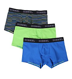 Diesel Shawn Cotton Stretch Trunks - 3 Pack SAB2CATE