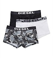 Diesel Shawn Military Cotton Stretch Trunks - 3 Pack SAB2SAOM