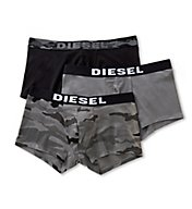 Diesel Shawn Camo Cotton Stretch Trunks - 3 Pack SAB2WAPQ