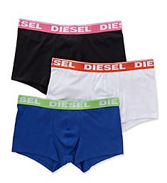Diesel Shawn Fresh & Bright Cotton Trunks - 3 Pack SB5IGAFN