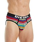 Diesel Andre Stripes Cotton Stretch Briefs - 3 Pack SH05WALL