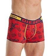 Diesel Hero Fashion Dino Print Boxer Trunk SJ54KAPM